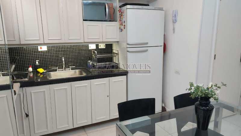 cozinha estilo americana - Dois quartos no Leblon - GIAP21344 - 14