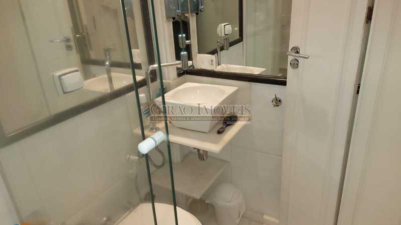 banheiro da suíte - Dois quartos no Leblon - GIAP21344 - 21