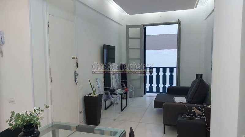 sala e varanda - Dois quartos no Leblon - GIAP21344 - 22