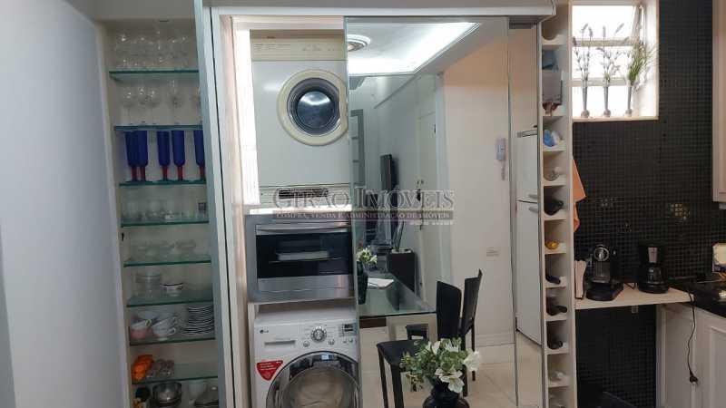 despensa, lavanderia, forno - Dois quartos no Leblon - GIAP21344 - 26
