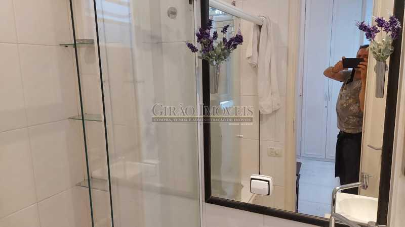 banheiro da suíte - Dois quartos no Leblon - GIAP21344 - 28