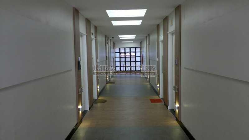 corredor padrão no prédio - Coração de Copacabana - GISL00110 - 1