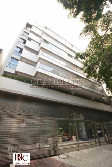 2. Fachada edifício. - Apartamento 3 quartos para venda e aluguel Botafogo, Rio de Janeiro - R$ 1.590.000 - GIAP31607 - 3