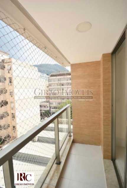 5. Varanda. - Apartamento 3 quartos para venda e aluguel Botafogo, Rio de Janeiro - R$ 1.590.000 - GIAP31607 - 6