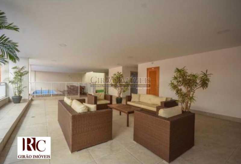 29. Lobby. - Apartamento 3 quartos para venda e aluguel Botafogo, Rio de Janeiro - R$ 1.590.000 - GIAP31607 - 30