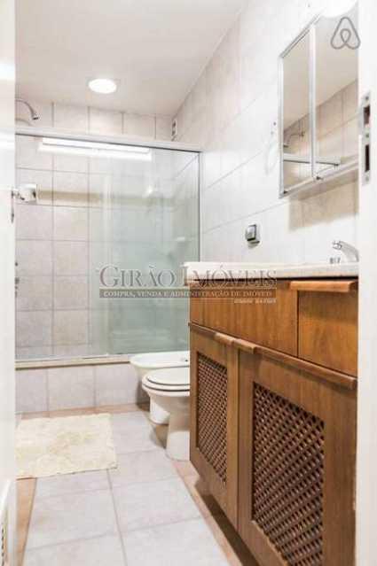 Banheiro - Apartamento 2 quartos para alugar Leblon, Rio de Janeiro - R$ 4.000 - GIAP21357 - 8