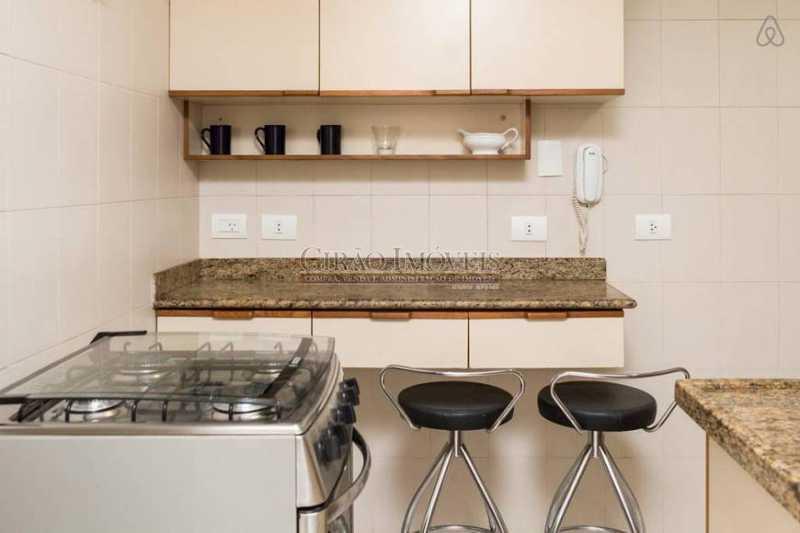 Cozinha - Copa - Apartamento 2 quartos para alugar Leblon, Rio de Janeiro - R$ 4.000 - GIAP21357 - 10