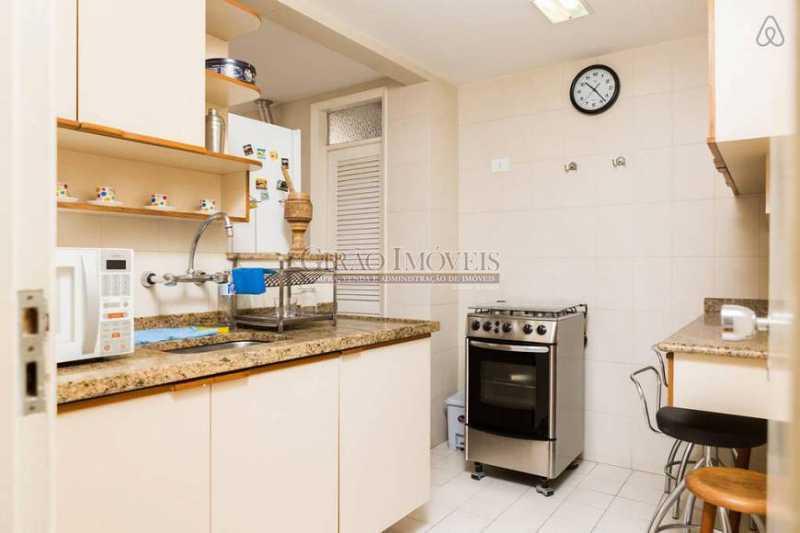 Cozinha  - Apartamento 2 quartos para alugar Leblon, Rio de Janeiro - R$ 4.000 - GIAP21357 - 11