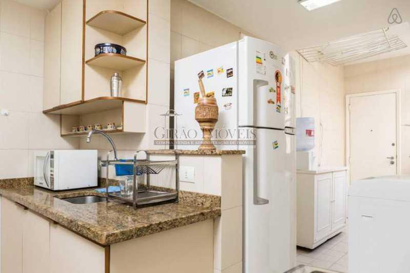 Cozinha - Apartamento 2 quartos para alugar Leblon, Rio de Janeiro - R$ 4.000 - GIAP21357 - 12