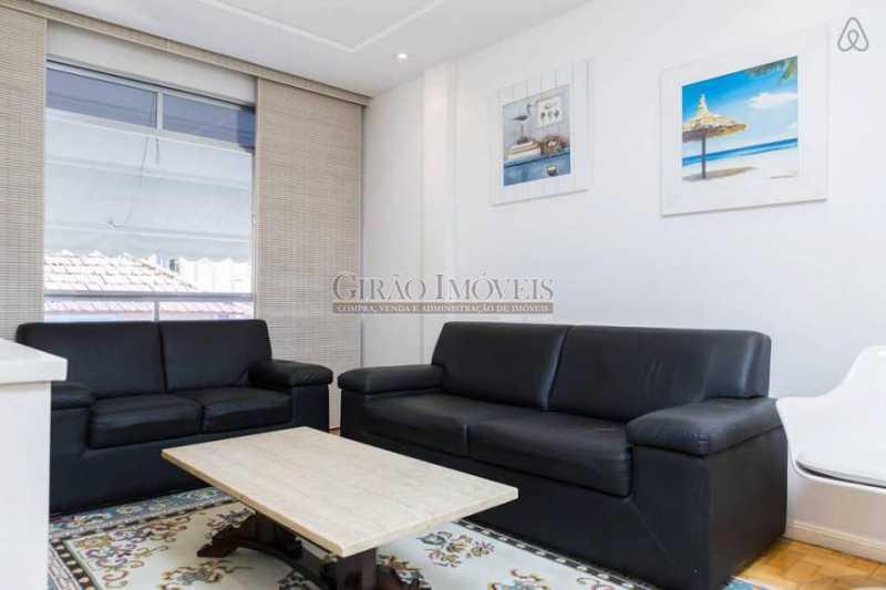 Sala - Apartamento 2 quartos para alugar Leblon, Rio de Janeiro - R$ 4.000 - GIAP21357 - 3
