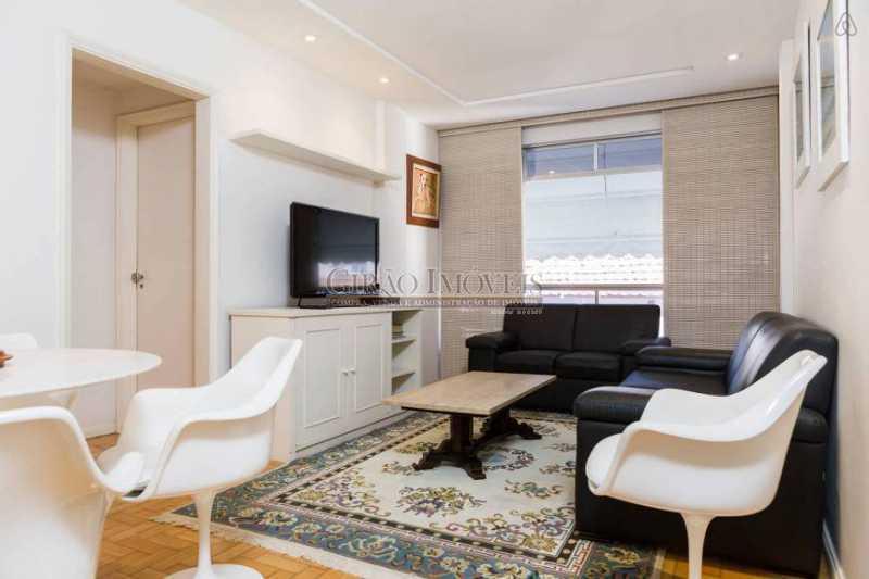 Sala - Apartamento 2 quartos para alugar Leblon, Rio de Janeiro - R$ 4.000 - GIAP21357 - 1