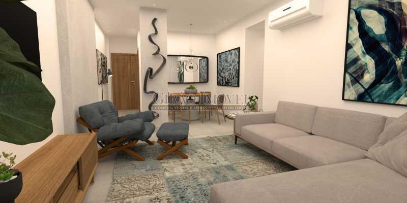 177a376233b8aeee-SALA 05 1 - Apartamento 2 quartos à venda Botafogo, Rio de Janeiro - R$ 790.000 - GIAP21361 - 1