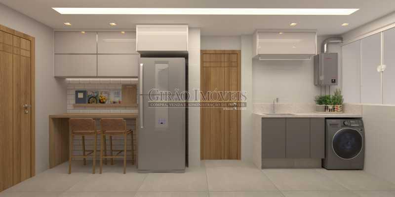 271b4876afd5782e-COZINHA 02 - Apartamento 2 quartos à venda Botafogo, Rio de Janeiro - R$ 790.000 - GIAP21361 - 13