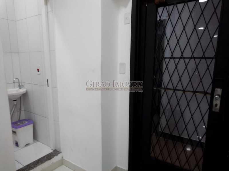 PORTA E ENTRADA P BANHEIRO - Sala Comercial 42m² à venda Copacabana, Rio de Janeiro - R$ 480.000 - GISL00112 - 9