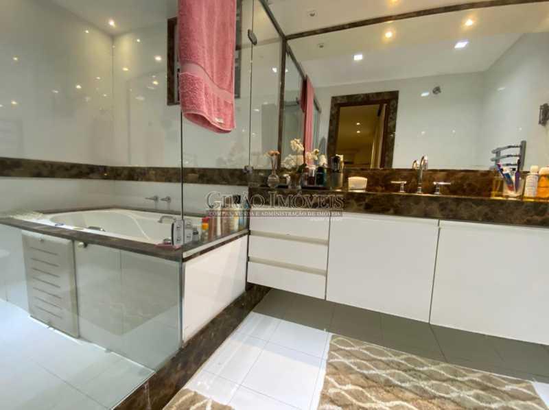 BANHEIRO - Apartamento 4 quartos para venda e aluguel Leme, Rio de Janeiro - R$ 6.000.000 - GIAP40380 - 15