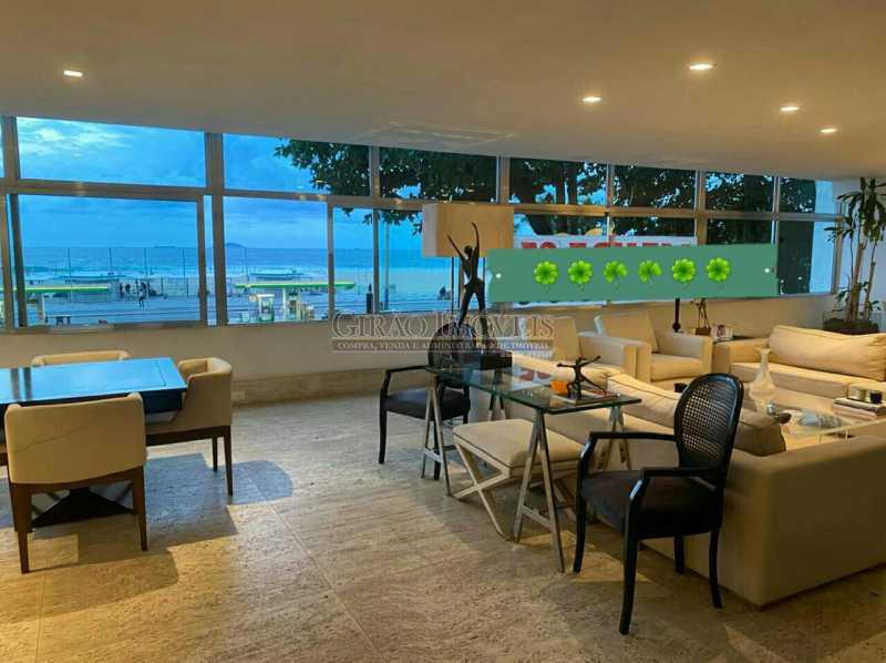 SALÃO VISTA MAR - Apartamento 4 quartos para venda e aluguel Leme, Rio de Janeiro - R$ 6.000.000 - GIAP40380 - 1