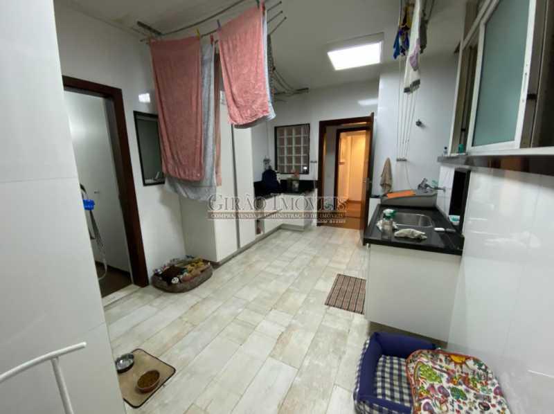 VISTA ÁREA DE SERVIÇO - Apartamento 4 quartos para venda e aluguel Leme, Rio de Janeiro - R$ 6.000.000 - GIAP40380 - 19