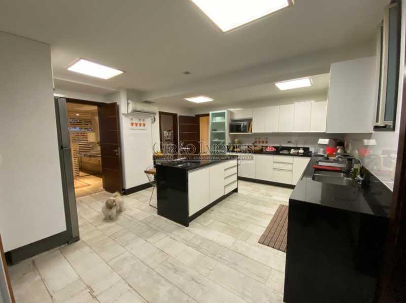 VISTA GERAL COPA COZINHA - Apartamento 4 quartos para venda e aluguel Leme, Rio de Janeiro - R$ 6.000.000 - GIAP40380 - 17