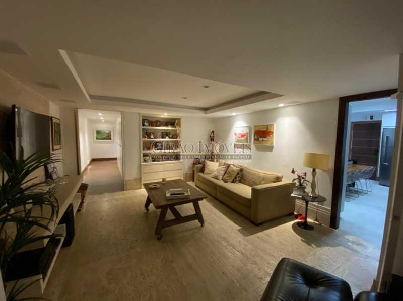 VISTA PARCIAL SALÃO - Apartamento 4 quartos para venda e aluguel Leme, Rio de Janeiro - R$ 6.000.000 - GIAP40380 - 4