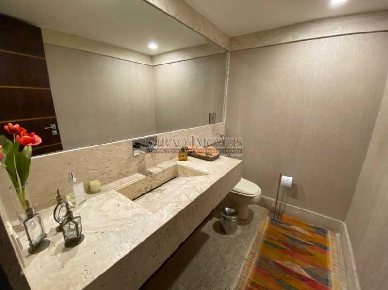 ESPELHO E BANCADA BANHEIRO - Apartamento 4 quartos para venda e aluguel Leme, Rio de Janeiro - R$ 6.000.000 - GIAP40380 - 14