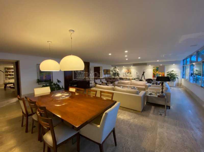 MAIS UM AMBIENTE DO  SALÃÓ - Apartamento 4 quartos para venda e aluguel Leme, Rio de Janeiro - R$ 6.000.000 - GIAP40380 - 5