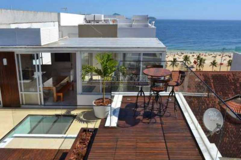 unnamed 3 - Cobertura à venda Avenida Vieira Souto,Ipanema, Rio de Janeiro - R$ 9.800.000 - GICO40014 - 1