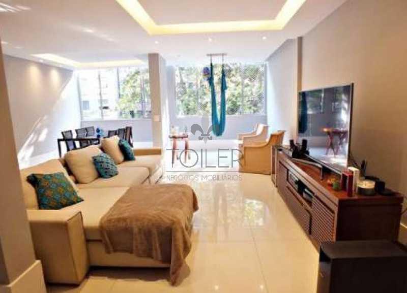 01 - Apartamento Para Venda ou Aluguel - Leblon - Rio de Janeiro - RJ - LB-VF2001 - 1