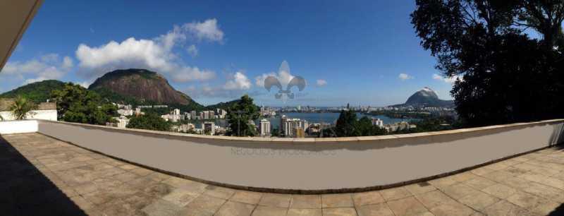 01 - Casa Para Venda ou Aluguel - Jardim Botânico - Rio de Janeiro - RJ - JB-MF5001 - 1