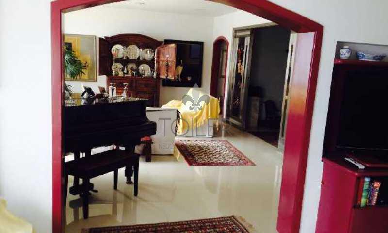 02 - Apartamento Avenida Afrânio de Melo Franco,Leblon,Rio de Janeiro,RJ À Venda,3 Quartos,200m² - LB-AM4004 - 3