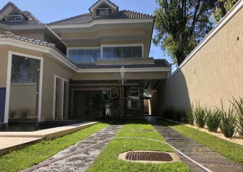 01 - Casa em Condomínio Rua Rivadavia Campos,Recreio dos Bandeirantes, Rio de Janeiro, RJ À Venda, 12 Quartos, 285m² - RE-RC6001 - 1