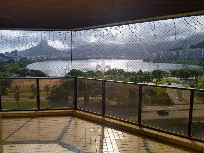 01 - Apartamento Para Alugar - Lagoa - Rio de Janeiro - RJ - LLA-EP3001 - 1