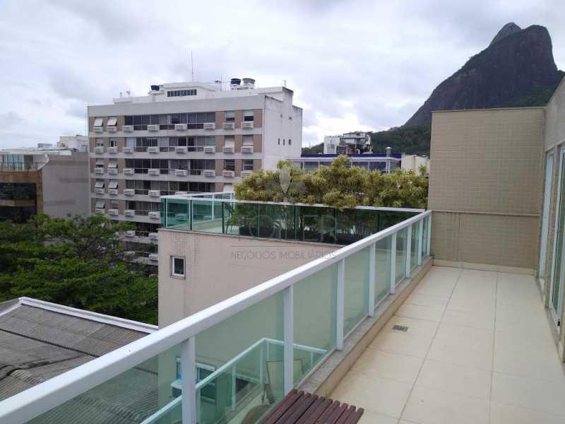 14 - Cobertura Avenida General San Martin,Leblon,Rio de Janeiro,RJ Para Alugar,2 Quartos,178m² - LLE-GS2002 - 15