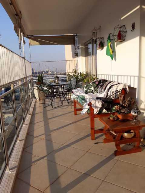 01 - Apartamento Rua Santa Luísa,Maracanã,Rio de Janeiro,RJ À Venda,3 Quartos,126m² - MA-SL3001 - 1
