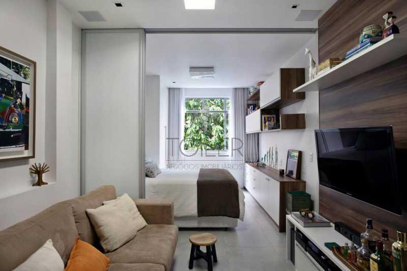 01 - Loft à venda Rua Timóteo da Costa,Leblon, Rio de Janeiro - R$ 650.000 - LB-TC1002 - 1