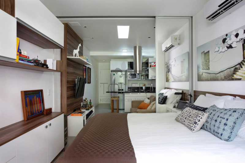 10 - Loft à venda Rua Timóteo da Costa,Leblon, Rio de Janeiro - R$ 650.000 - LB-TC1002 - 11