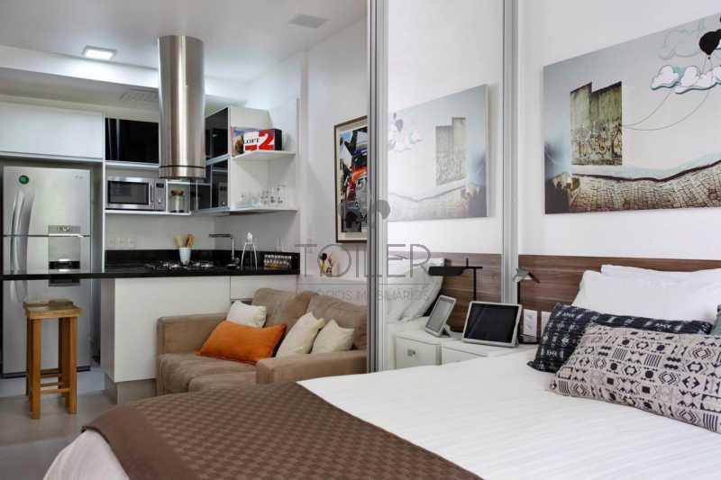11 - Loft à venda Rua Timóteo da Costa,Leblon, Rio de Janeiro - R$ 650.000 - LB-TC1002 - 12