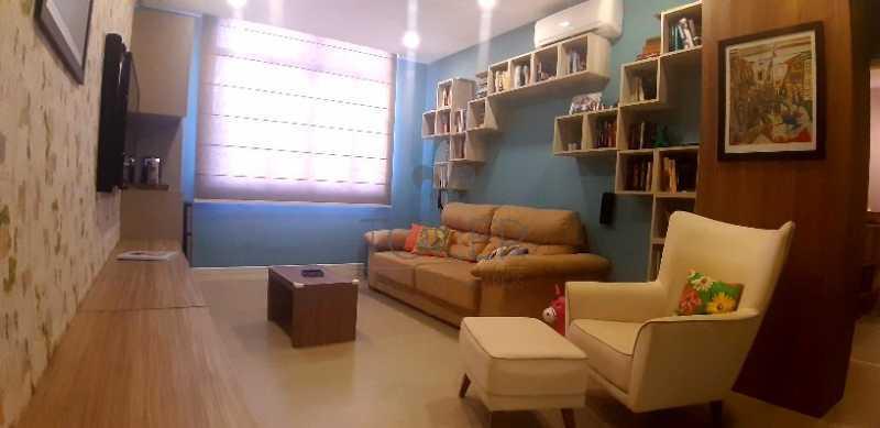 01 - Apartamento Rua Senador Vergueiro,Flamengo, Rio de Janeiro, RJ À Venda, 2 Quartos, 75m² - FL-SV2001 - 1