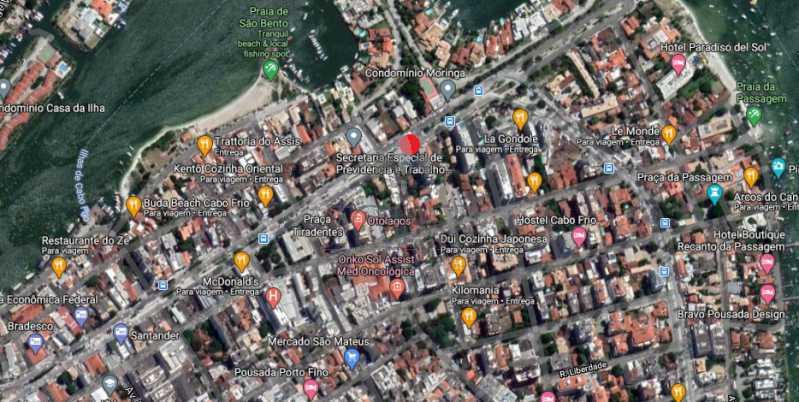 03 - Terreno 780m² à venda Avenida Assunção,São Bento, Cabo Frio - R$ 3.500.000 - CFT-RA001 - 4