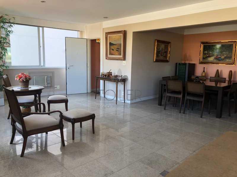 01 - Apartamento à venda Rua Sambaíba,Leblon, Rio de Janeiro - R$ 2.900.000 - LB-RS4011 - 1