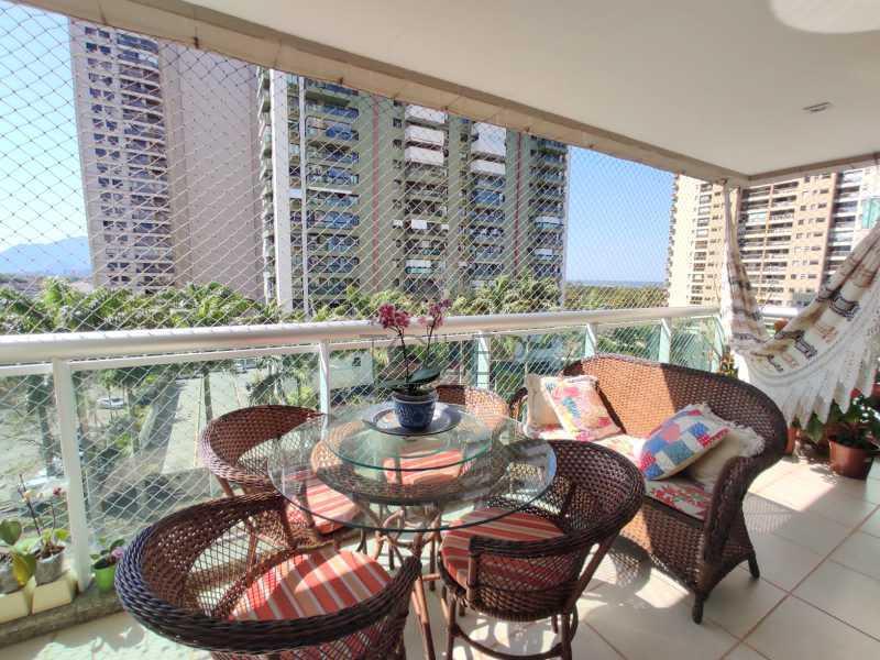 01 - Apartamento à venda Rua Lagoa das Garças,Barra da Tijuca, Rio de Janeiro - R$ 1.380.000 - BT-LG4001 - 1