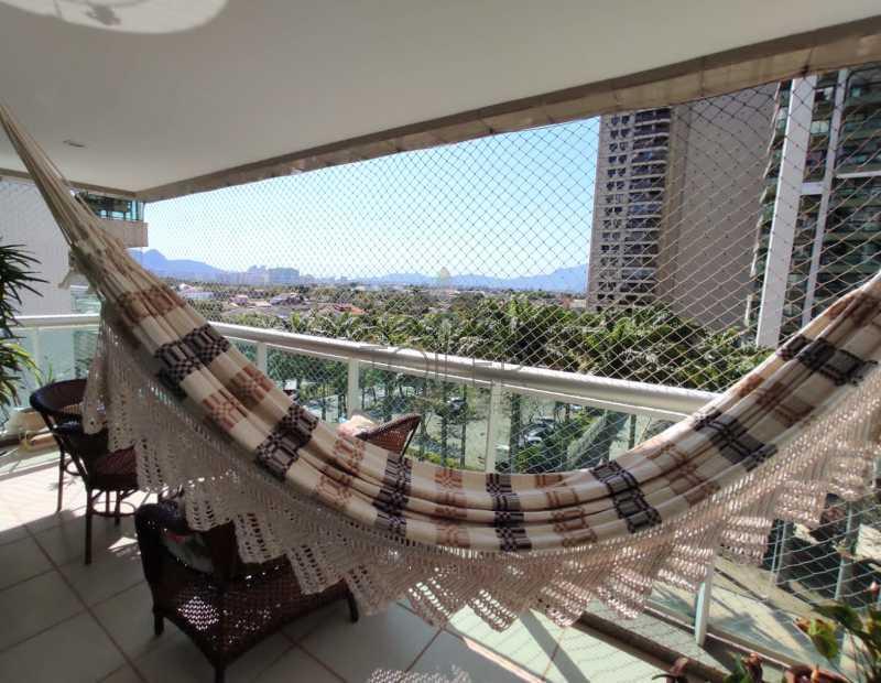 06 - Apartamento à venda Rua Lagoa das Garças,Barra da Tijuca, Rio de Janeiro - R$ 1.380.000 - BT-LG4001 - 7