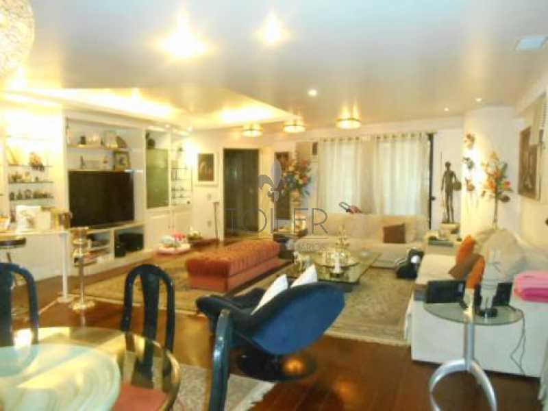 01 - Apartamento para alugar Rua Almirante Pereira Guimarães,Leblon, Rio de Janeiro - R$ 13.000 - LB-AP3003 - 1