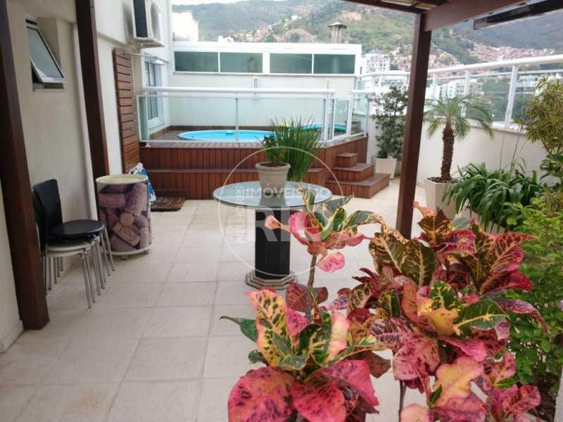 Melhores Imóveis no Rio - Cobertura 3 quartos no Grajaú - MIR0944 - 1