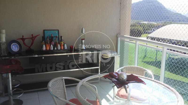 Melhores Imóveis no Rio - Apartamento 3 quartos na Barra da Tijuca - MIR1127 - 3