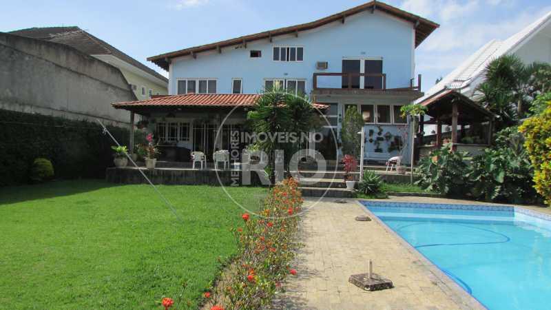 Melhores Imóveis no Rio - Casa 4 quartos no Condomínio Mansões - CB0601 - 1