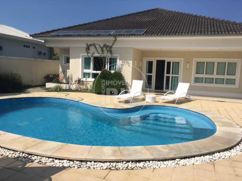 Melhores Imóveis no Rio - Casa 4 quartos no Condomínio Crystal Lake - CB0624 - 1