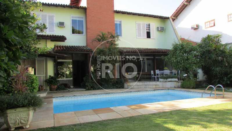 Melhores Imóveis no Rio - Casa 4 quartos no Condomínio Santa Marina - CB0647 - 1