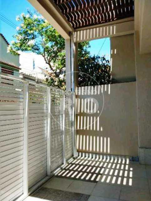 Melhores Imóveis no Rio - Casa duplex 3 quartos na Tijuca - MIR1629 - 18