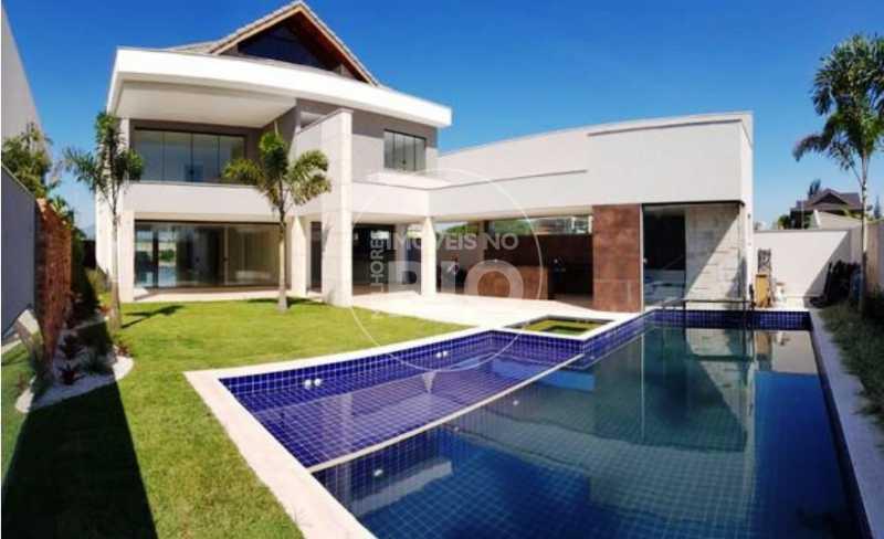 Melhores Imóveis no Rio - Casa 4 quartos no Condomínio Alphaville - CB0667 - 1