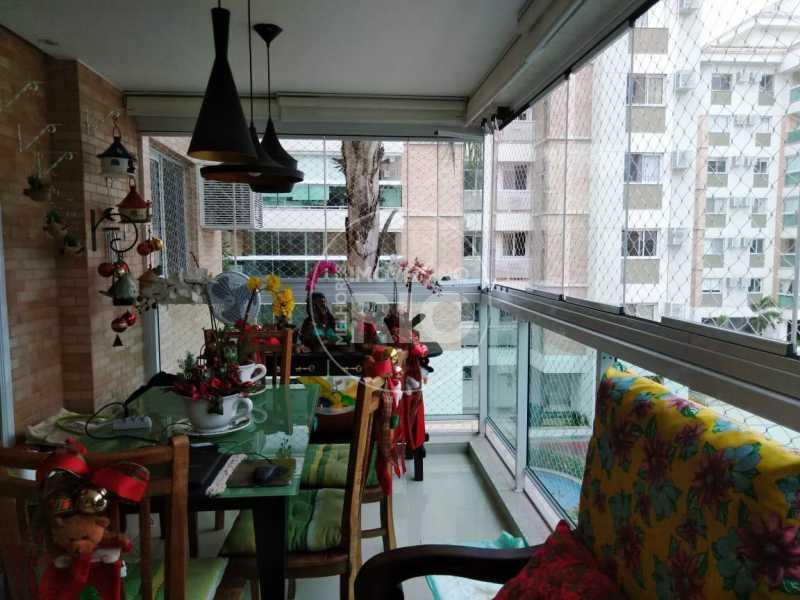 Melhores Imóveis no Rio - Apartamento 3 quartos na Barra da Tijuca - MIR1798 - 1